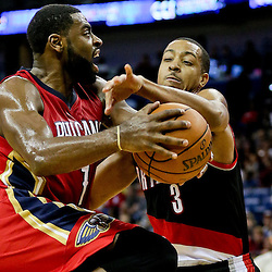 12-23-2015 Portland Trailblazers at New Orleans Pelicans