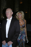 John Caudwell and Claire Johnson, The British Fashion Awards  2006 sponsored by Swarovski . Victoria and Albert Museum. 2 November 2006. ONE TIME USE ONLY - DO NOT ARCHIVE  © Copyright Photograph by Dafydd Jones 66 Stockwell Park Rd. London SW9 0DA Tel 020 7733 0108 www.dafjones.com