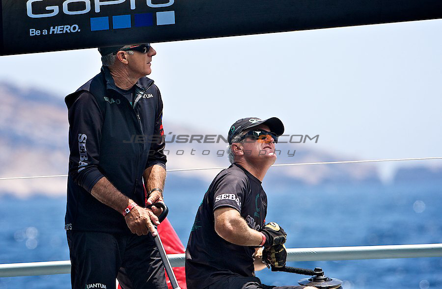 Audi Medcup circuit 2011,Marseille,second day of racing,Quantum helsman Ed Baird