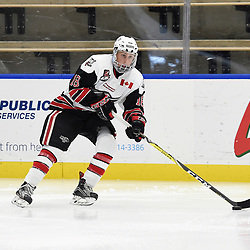 BUFFALO, NY - SEP 19,  2017: Ontario Junior Hockey League Governors Showcase game between the Pickering Panthers and the Georgetown Raiders,<br /> (Photo by Andy Corneau / OJHL Images)