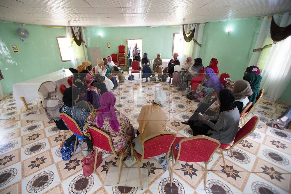 © Licensed to London News Pictures. 4/08/2015. Hargeisa, Somaliland. As well as the book festival in Hargeisa the city held it's first Women of the World event, hosted by Jude Kelly, the Artistic Director of the Southbank Centre, London.  <br /> <br /> The International Hargeisa Book Festival was held in the city of Hargeisa within the Republic of Somaliland this week (1 - 6 Aug).   Over 700 guests are expected to attend along with renowned poets, writers and musicians from both Somaliland, Nigeria and the UK.   Photo credit : Alison Baskerville/LNP