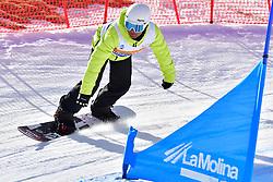 GONZALEZ F. VM, SB-LL1, ESP, Snowboard Cross at the WPSB_2019 Para Snowboard World Cup, La Molina, Spain