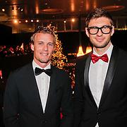 NLD/Amsterdam/20101209 - VIP avond Miljonairfair 2010, Evgeny Levchenko (r) en vriend