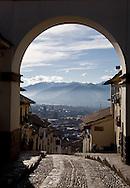 Entryway to Cusco, Peru