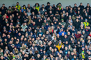 West Bromwich Albion FC supporters after a missed attempt at goal during the FA Cup fourth round match between Brighton and Hove Albion and West Bromwich Albion at the American Express Community Stadium, Brighton and Hove, England on 26 January 2019.