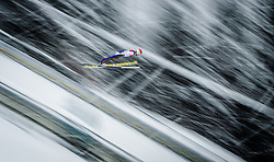 31.01.2016, Casino Arena, Seefeld, AUT, FIS Weltcup Nordische Kombination, Seefeld Triple, Skisprung, Wertungssprung, im Bild Mario Seidl (AUT) // Mario Seidl of Austria competes during his Competition Jump of Skijumping of the FIS Nordic Combined World Cup Seefeld Triple at the Casino Arena in Seefeld, Austria on 2016/01/31. EXPA Pictures © 2016, PhotoCredit: EXPA/ JFK