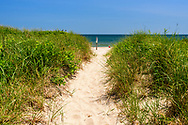 Path to Beach, Old Town Road Beach, Southampton, NY
