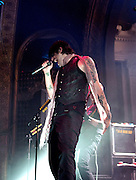 Hinder performing at the Newport Music Hall in Columbus, OH on September 14, 2010