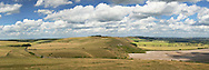 Knap Hill on the Pewsey Downs from Walkers Hill, Alton Barnes, Wiltshire, Uk