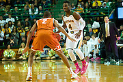 WACO, TX - JANUARY 25: Gary Franklin #4 of the Baylor Bears brings the ball up court against the Texas Longhorns on January 25, 2014 at the Ferrell Center in Waco, Texas.  (Photo by Cooper Neill/Getty Images) *** Local Caption *** Gary Franklin