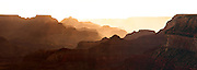 Sunrise at Grand Canyon National Park in Arizona.