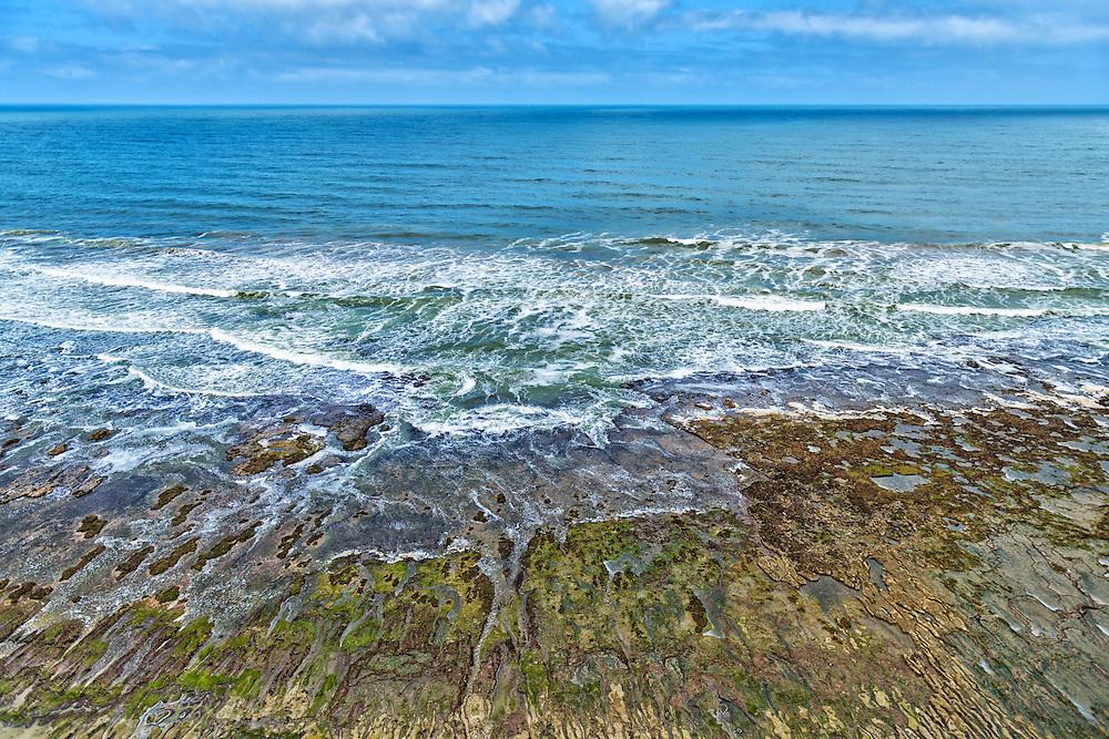 Atlantic coast near Tan-Tan, Morocco.