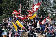 Crowd, Cheering Crowd, Sporting Event, Spectators, 2002 Winter Olympics, Winter Olympics, Olympics, Park City, Utah