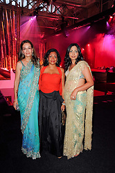 Left to right, MARIANNE ADVANI, REITA GADKARI and PRIYANKA GILL at ARTiculate, Pratham UK Fundraising Gala held at The Old Billingsgate Market, City Of London on  11th September 2010 *** Local Caption *** Image free to use for 1 year from image capture date as long as image is used in context with story the image was taken.  If in doubt contact us - info@donfeatures.com<br /> Left to right, MARIANNE ADVANI, REITA GADKARI and PRIYANKA GILL at ARTiculate, Pratham UK Fundraising Gala held at The Old Billingsgate Market, City Of London on  11th September 2010