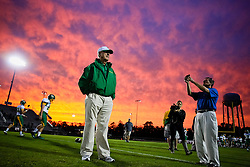 Summerville coach John McKissick watches his team before the start of their game against Ashley Ridge Friday, Oct. 26, 2012 at Ashley Ridge High School in Summerville. Paul Zoeller/Special to the Post and Courier