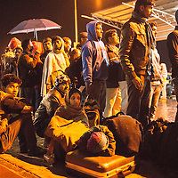 Thousands of Indian migrant worker in Nepal waiting at the Kathmandu airpot to catch the flight to India.