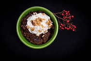 Recipes/Food from the FAPC Favorites Recipe Book.<br /> Hot Fudge Walnut Pudding Cake