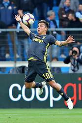 """Foto LaPresse/Filippo Rubin<br /> 13/04/2019 Ferrara (Italia)<br /> Sport Calcio<br /> Spal - Juventus - Campionato di calcio Serie A 2018/2019 - Stadio """"Paolo Mazza""""<br /> Nella foto: PAULO DYBALA (JUVENTUS)<br /> <br /> Photo LaPresse/Filippo Rubin<br /> April 13, 2019 Ferrara (Italy)<br /> Sport Soccer<br /> Spal vs Juventus - Italian Football Championship League A 2018/2019 - """"Paolo Mazza"""" Stadium <br /> In the pic: PAULO DYBALA (JUVENTUS)"""