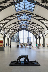 Sculptures in Body Pressure Exhibition at Hamburger Bahnhof Art Museum in Berlin Germany