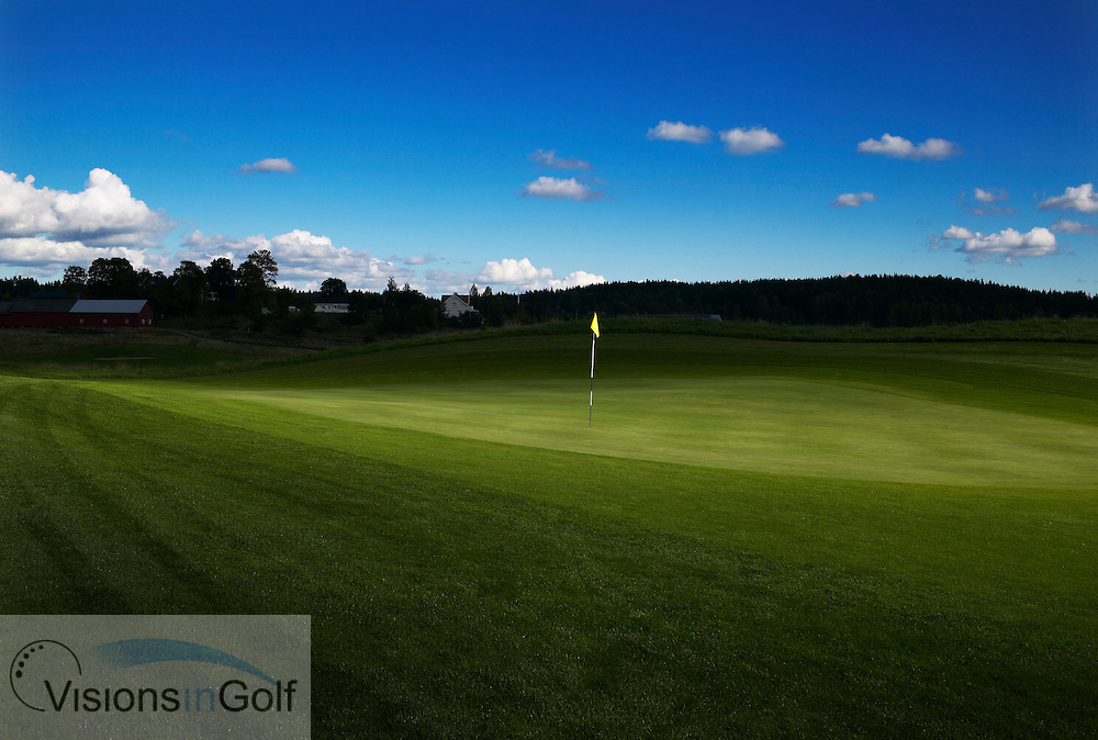 5th green, Arjang GC, Sweden<br />  <br /> Photo Visions In Golf/Christer Hoglund