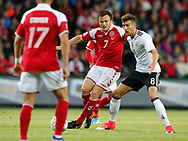 FOOTBALL: William Kvist (Denmark) and Leon Goretzka (Germany) during the Friendly match between Denmark and Germany at Brøndby Stadion on June 6, 2017 in Brøndby, Denmark. Photo by: Claus Birch / ClausBirch.dk.