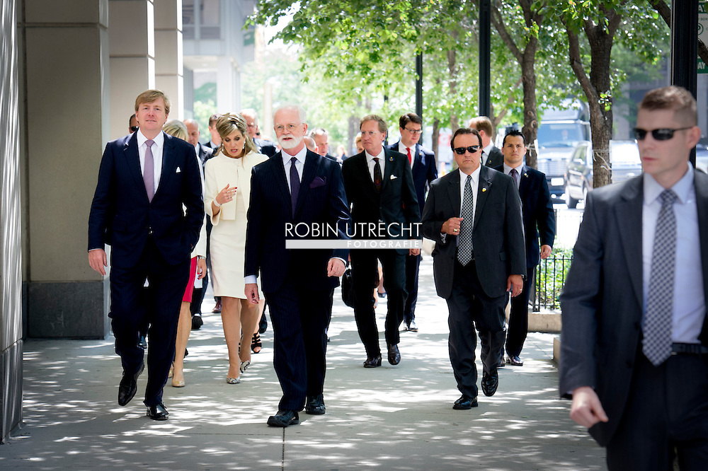 King Willem-Alexander and Queen Maxima of The Netherlands Visit Northwestern University Robert H. Lurie Medical Research Center in Chicago. United States, 3 June 2015.The King and Queen visit the United States during an 3 day official visit. COPYRIGHT ROBIN UTRECHT