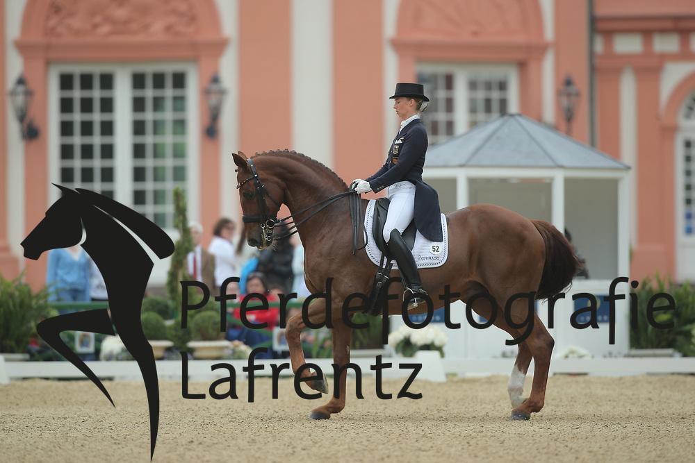 Lütkemeier, Fabienne, D´Agostino FRH<br /> Wiesbaden - Pfingstturnier 2015<br /> Grand Prix de Dressage<br /> © www.sportfotos-lafrentz.de/Stefan Lafrentz