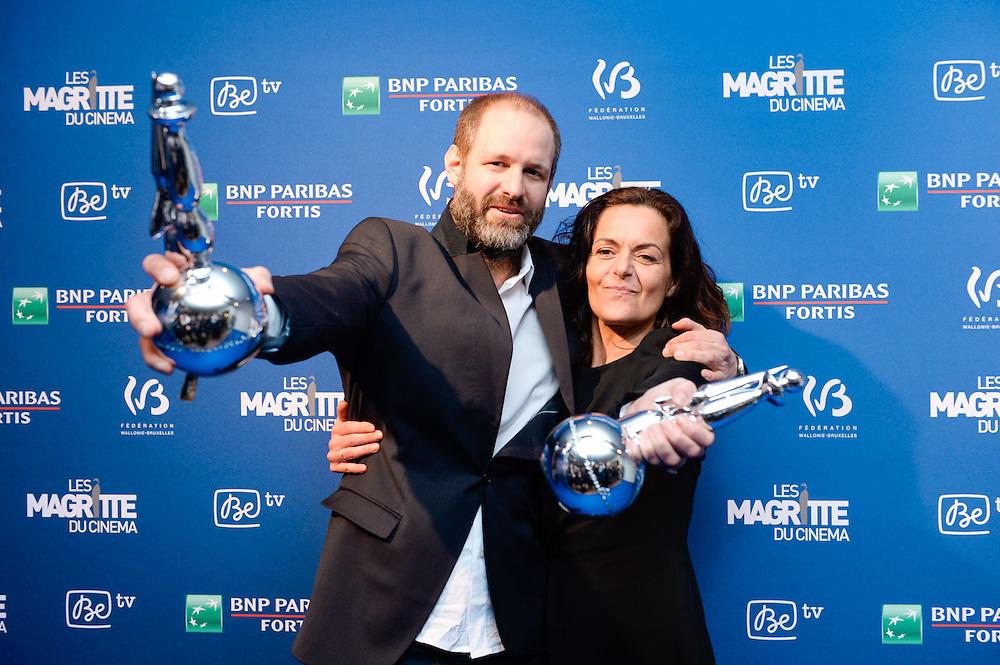 Bruxelles - Brussels 06/02/2016<br /> <br /> 6eme Ceremonie des Magritte du Cinema // 6de ceremonie van de Magritte du Cinema<br /> <br /> Pix Manu Dacosse<br /> <br /> Credit Melanie Wenger / Isopix *** local caption *** 22365129