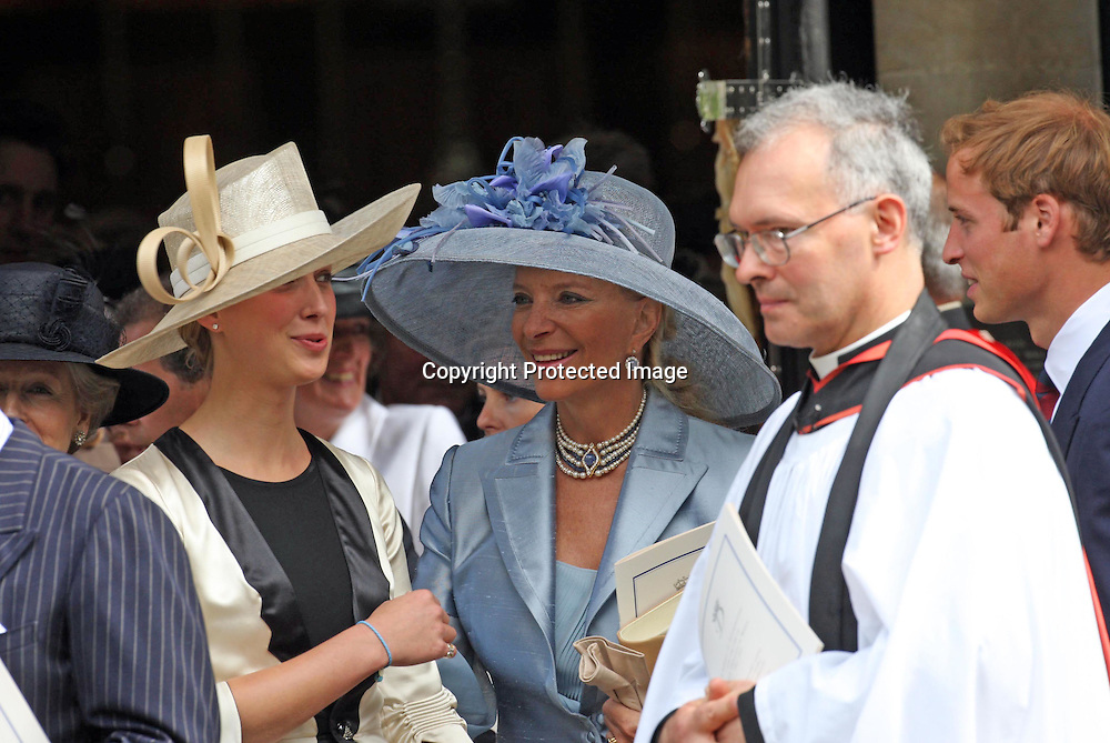 Princess Michael of Kent and daughter Lady Gabriella Windsor at the Service to celebrate the life of Princess Diana, Princess of Wales at the Guards Chapel in London on August 31, 2007.<br />