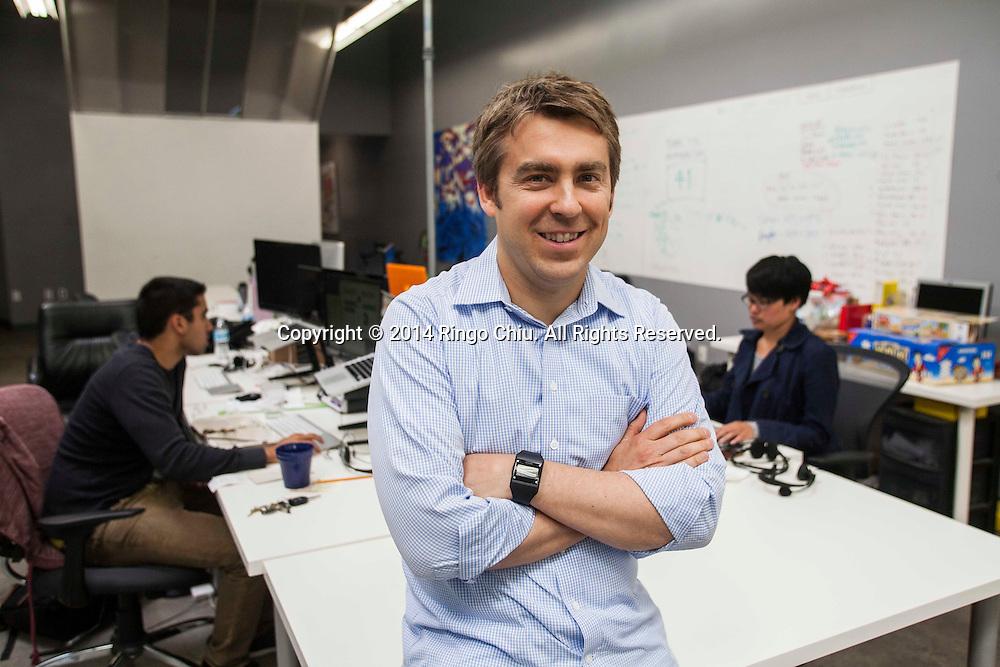Erik Rannala, managing partner, Mucker Capital.(Photo by Ringo Chiu/PHOTOFORMULA.com)