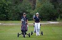 NUNSPEET  -   Roos Nijenhuis  en Britt op den Winkel,   , speler NGF Nationale selectie golf Nationale team,   COPYRIGHT KOEN SUYK