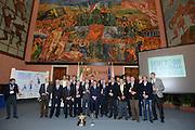 DESCRIZIONE : Roma Basket Day Hall of Fame 2013<br /> GIOCATORE : Blasetti Brunamonti Caglieris Riva Vecchiato Meneghin Bianchini Villalta Sacchetti Gilardi Costa Bonamico Pollini Laguardia Petrucci Malago'<br /> SQUADRA : FIP Federazione Italiana Pallacanestro <br /> EVENTO : Basket Day Hall of Fame 2013<br /> GARA : Roma Basket Day Hall of Fame 2013<br /> DATA : 09/12/2013<br /> CATEGORIA : Premiazione<br /> SPORT : Pallacanestro <br /> AUTORE : Agenzia Ciamillo-Castoria/GiulioCiamillo