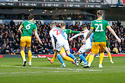 1-0, goal scored by Adam Armstrong of Blackburn Rovers   during the EFL Sky Bet Championship match between Blackburn Rovers and Preston North End at Ewood Park, Blackburn, England on 11 January 2020.