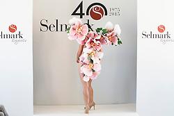 15.10.2015, Circulo de Bellas Artes, Madrid, ESP, Senmark Jubil&auml;ums Fashion Show, im Bild Mireia Canalda // during the Senmark 40th. Aniversary Fashion Show at the Circulo de Bellas Artes in Madrid, Spain on 2015/10/15. EXPA Pictures &copy; 2015, PhotoCredit: EXPA/ Alterphotos/ BorjaB.hojas<br /> <br /> *****ATTENTION - OUT of ESP, SUI*****
