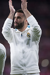 November 18, 2017 - Madrid, Madrid, Spain - Carvajal during the match between Atletico de Madrid and Real Madrid, week 12 of La Liga at Wanda Metropolitano stadium, Madrid, SPAIN - 18th November of 2017. (Credit Image: © Jose Breton/NurPhoto via ZUMA Press)