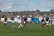 13th July 2019,  Starks Park, Kirkcaldy, Scotland; Scottish League Cup football, Raith Rovers versus Dundee; Andrew Nelson of Dundee scores from the penalty spot for 2-0