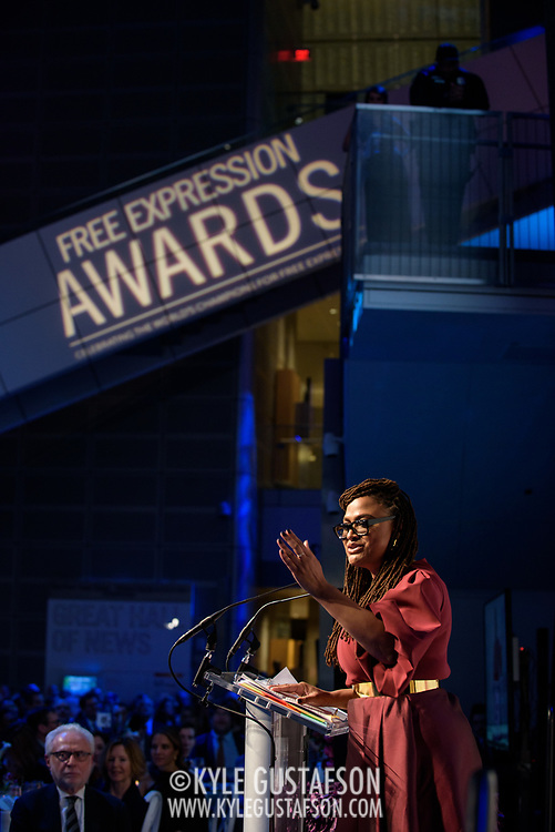 Photos from the 2019 Free Expression Awards at the Newseum in Washington, D.C. (Photo by Kyle Gustafson)