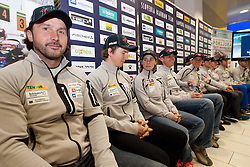 Tomas Kos  at press conference of Slovenia Biathlon team before new season 2010 - 2011, on November 24, 2010, in Emporium, BTC, Ljubljana, Slovenia.  (Photo by Vid Ponikvar / Sportida)