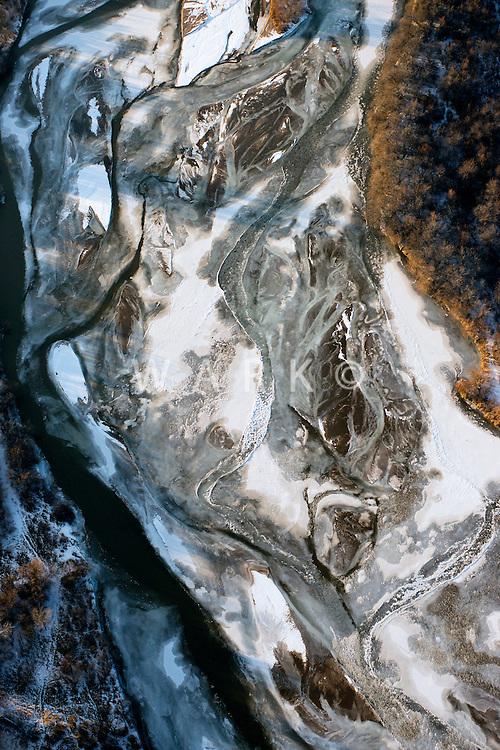 Arkansas River in winter, Pueblo County, Colorado. Feb 2014
