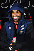 Callum Wilson (13) of AFC Bournemouth during the EFL Cup 4th round match between Bournemouth and Norwich City at the Vitality Stadium, Bournemouth, England on 30 October 2018.