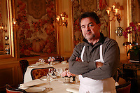 Bernard PACAUD ..Bernard Pacaud is the chef and owner of l'Ambroisie, the three star (Michelin) restaurant in the Place des Vosges
