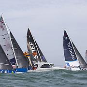 Course de la Classe Figaro Bénéteau organisée par Les Sables d'Olonne Course au Large.