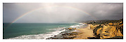 Rainbow over Fairhaven from Split Point, Aireys Inlet