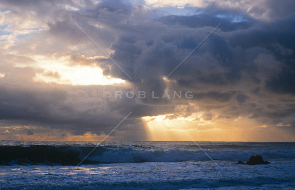 variation of storm cloud photograph over the ocean in East Hampton, NY