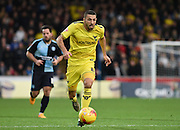Oxford midfielder Liam Sercombe during the Sky Bet League 2 match between Wycombe Wanderers and Oxford United at Adams Park, High Wycombe, England on 19 December 2015. Photo by David Charbit.