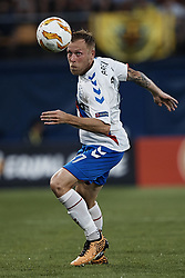 September 20, 2018 - Vila-Real, Castellon, Spain - Scott Arfield of Rangers in action during the UEFA Europa League group G match between Villarreal CF and Rangers at Estadio de la Ceramica on September 20, 2018 in Vila-real, Spain  (Credit Image: © David Aliaga/NurPhoto/ZUMA Press)
