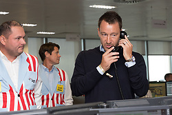 © Licensed to London News Pictures. 11/09/2018. London, UK.  John Terry at the 14th Annual BGC Charity Day held on the trading floor of BGC Partners in Canary Wharf, to raise money for charitable causes in commemoration of BGC's 658 colleagues and the 61 Eurobrokers employees lost on 9/11.  Photo credit: Vickie Flores/LNP