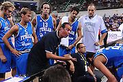 RIMINI 12 AGOSTO 2011<br /> BASKET FIP<br /> TROFEO INTERNAZIONALE TASSONI CITTA DI RIMINI<br /> ITALIA BOSNIA<br /> NELLA FOTO PIANIGIANI<br /> FOTO CIAMILLO