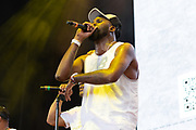 Big G of Backyard Band performs during Summer Spirit Festival 2018 at Merriweather Post Pavilion in Columbia, MD on Sunday, August 5, 2018.