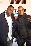 Naughty By Nature, l to r: DJ Kaye Gee and Vinny Rock at the Common Celebration Capsule Line Launch with Softwear by Microsoft at Skylight Studios on December 3, 2008 in New York City..Microsoft celebrates the launch of a limited-edition capsule collection of SOFTWEAR by Microsoft graphic tees designed by Common. The t-shirt  designs. inspired by the 1980's when both Microsoft and and Hip Hop really came of age, include iconography that depicts shared principles of the technology company and the Hip Hop Star.